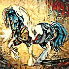 Gypsy Vanner Horse Illustration by Ladyfyre