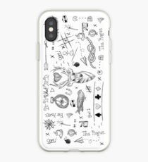 Louis Tomlinson Tattoos iPhone Case