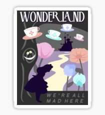 Visit Wonderland Sticker