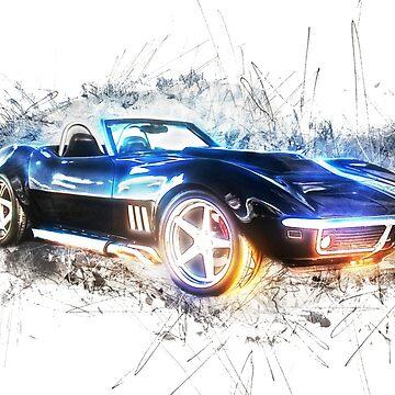 Classic Corvette by TortillaChief