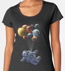 Space Travel Women's Premium T-Shirt