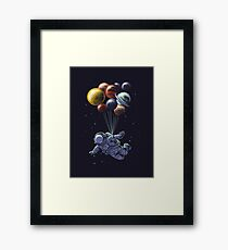 Space Travel Framed Print