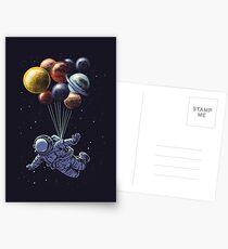 Raumfahrt Postkarten