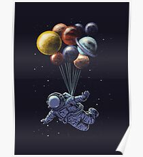 Space Travel Poster