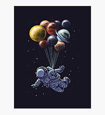 Raumfahrt Fotodruck