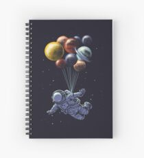 Space Travel Spiral Notebook