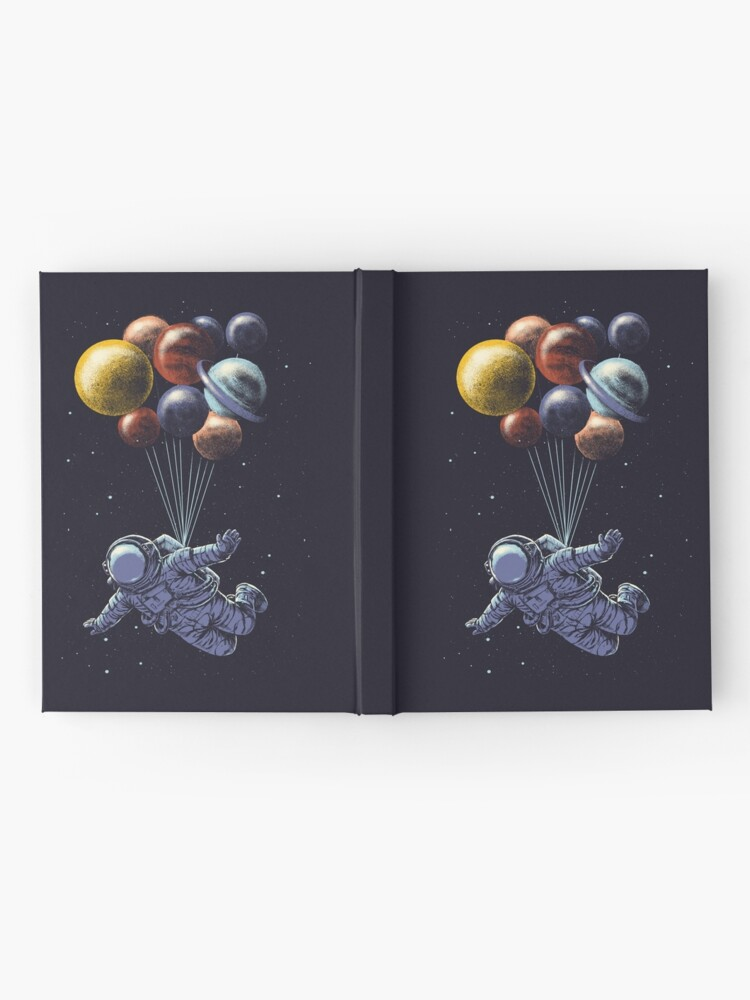 Alternate view of Space Travel Hardcover Journal
