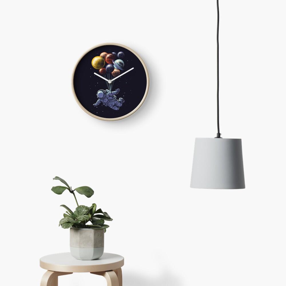 Space Travel Clock