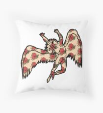 Led Zeppelin Angel with Roses Throw Pillow