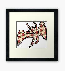 Led Zeppelin Angel with Roses Framed Print