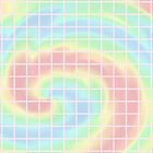 Pastel Rainbows Grid by ChessJess