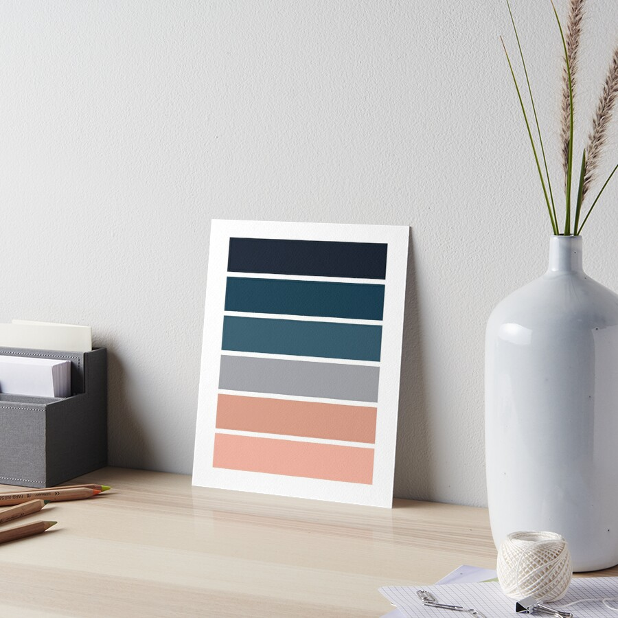 6 [Color Swatches, Swatches, Office Art, Home Decor