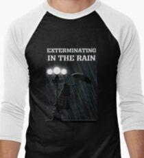 MusiKill in the Rain Men's Baseball ¾ T-Shirt