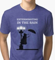 MusiKill in the Rain Tri-blend T-Shirt