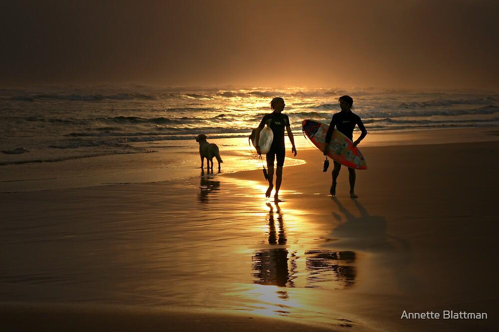 Surfer Dudes by Annette Blattman