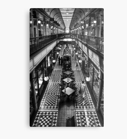 Adelaide Arcade Metal Print
