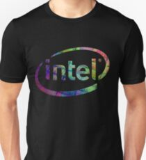 Intel Logo | Silicon CPU Unisex T-Shirt