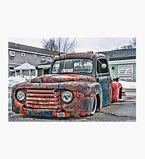 Truck & Treats Photographic Print