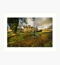 Alms House - Stydd - Lancashire Art Print