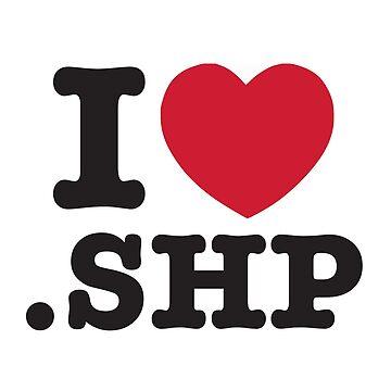 I love the shapefile (NO VINYL) <3 .SHP  by atanasentchev