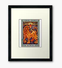 Lust - Thoth Tarot Framed Print