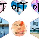 OFT Mini Stickers Pack by lunariamoon
