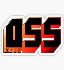 OSS BJJ Sticker