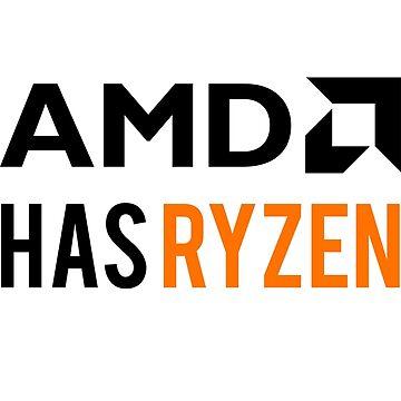 AMD Has Ryzen   Black by BHawk-Graphics