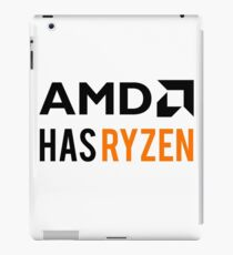 AMD Has Ryzen | Black iPad Case/Skin