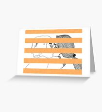 The Kiss III Greeting Card
