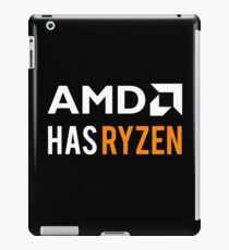 AMD Has Ryzen | White iPad Case/Skin