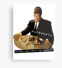 The Butler Wadsworth  Metal Print