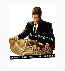 The Butler Wadsworth  Photographic Print