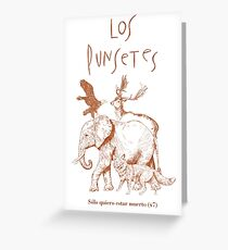 Los Punsetes - Natural History Museum Greeting Card