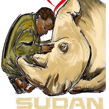 In Loving Memory of Sudan by Nazyl
