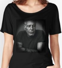 Anthony Bourdain T-shirts coupe relax