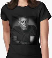Anthony Bourdain Women's Fitted T-Shirt