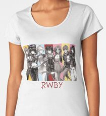 The Dangerous Seven - RWBY Women's Premium T-Shirt