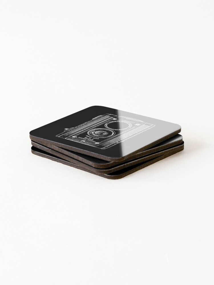 Alternate view of Kodak Duoflex with White Outline Coasters (Set of 4)