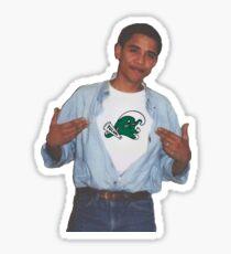 Tulane Obama Supreme Shirt Roll Wave Sticker