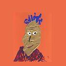 « L'africain - Martin Boisvert - Faces à flaques » par Martin Boisvert