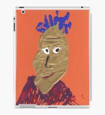 L'africain - Martin Boisvert - Faces à flaques iPad Case/Skin