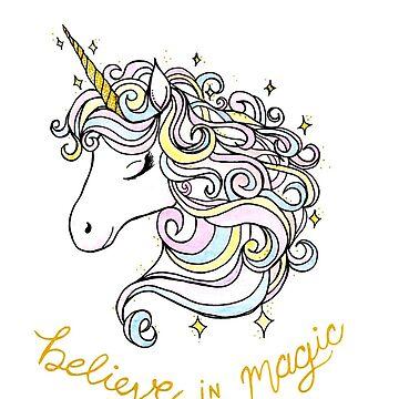 BELIEVE IN MAGIC  by ivysanchez