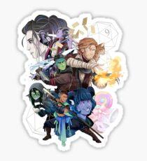 The Mighty Nein Sticker