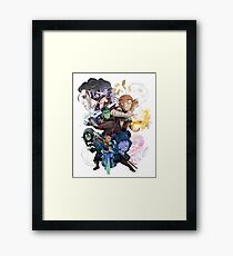 The Mighty Nein Framed Print