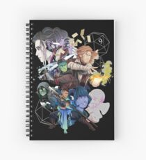 Cuaderno de espiral The Mighty Nein