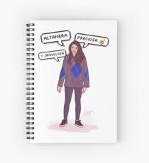 Ana War - OT 2017 Spiral Notebook