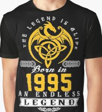 The Legend Is Alive - Born In 1995 Graphic T-Shirt