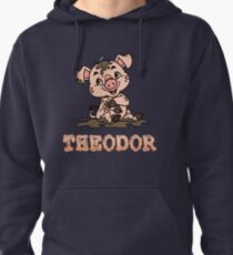 Theodor Piggy Pullover Hoodie