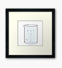 Cute Beaker Framed Print